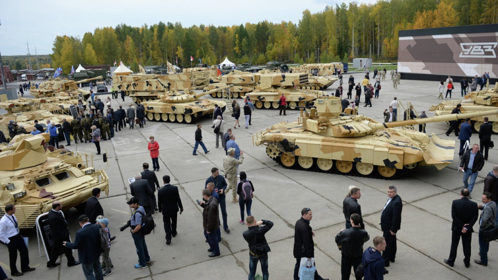 Выставка Russia Arms Expo